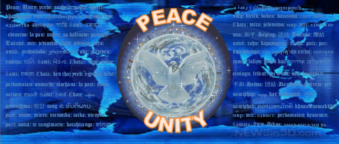 A Charity Dedicated to Peace, Unity and the Betterment of All of Humanity and Mankind!
